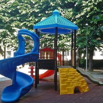 What are the floors of outdoor children's playgrounds?